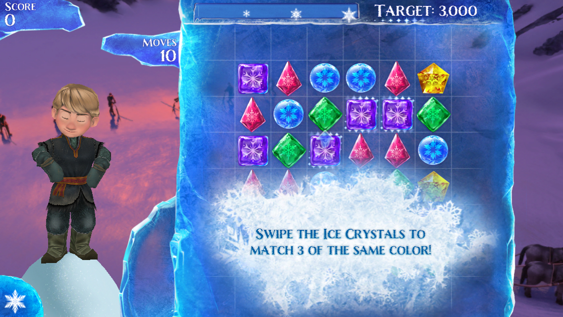 iOS App of the Day: Frozen Free Fall | BoxMash