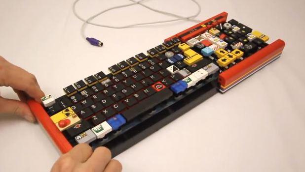 Incredible LEGO keyboard really works!