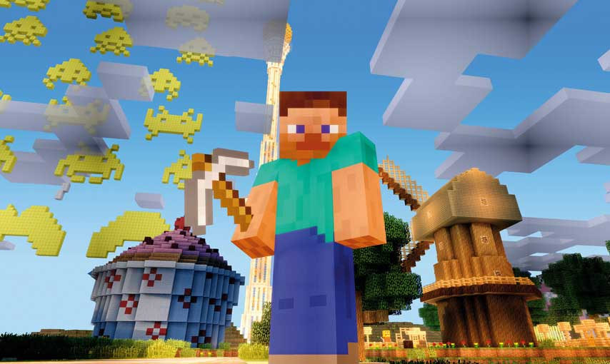 Minecraft Update 14 Now Available for Xbox 360 and PS3