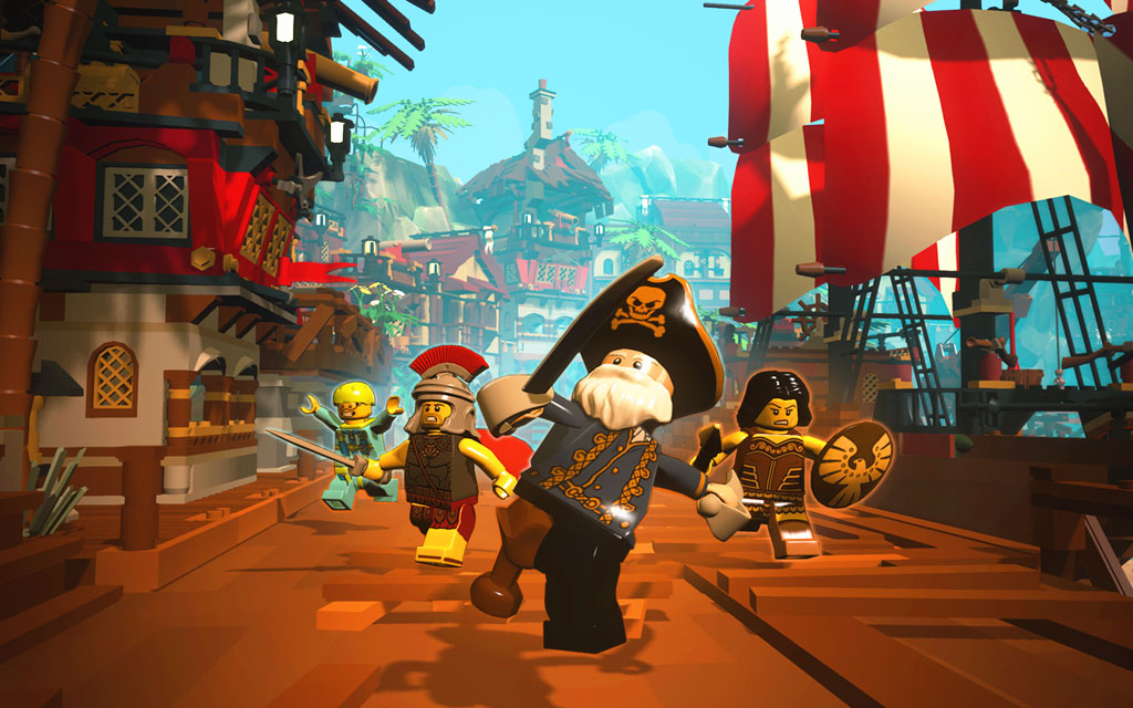 LEGO Minifigures Online trailer sets sail for Pirate World