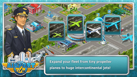 iOS App of the Day: Airport City