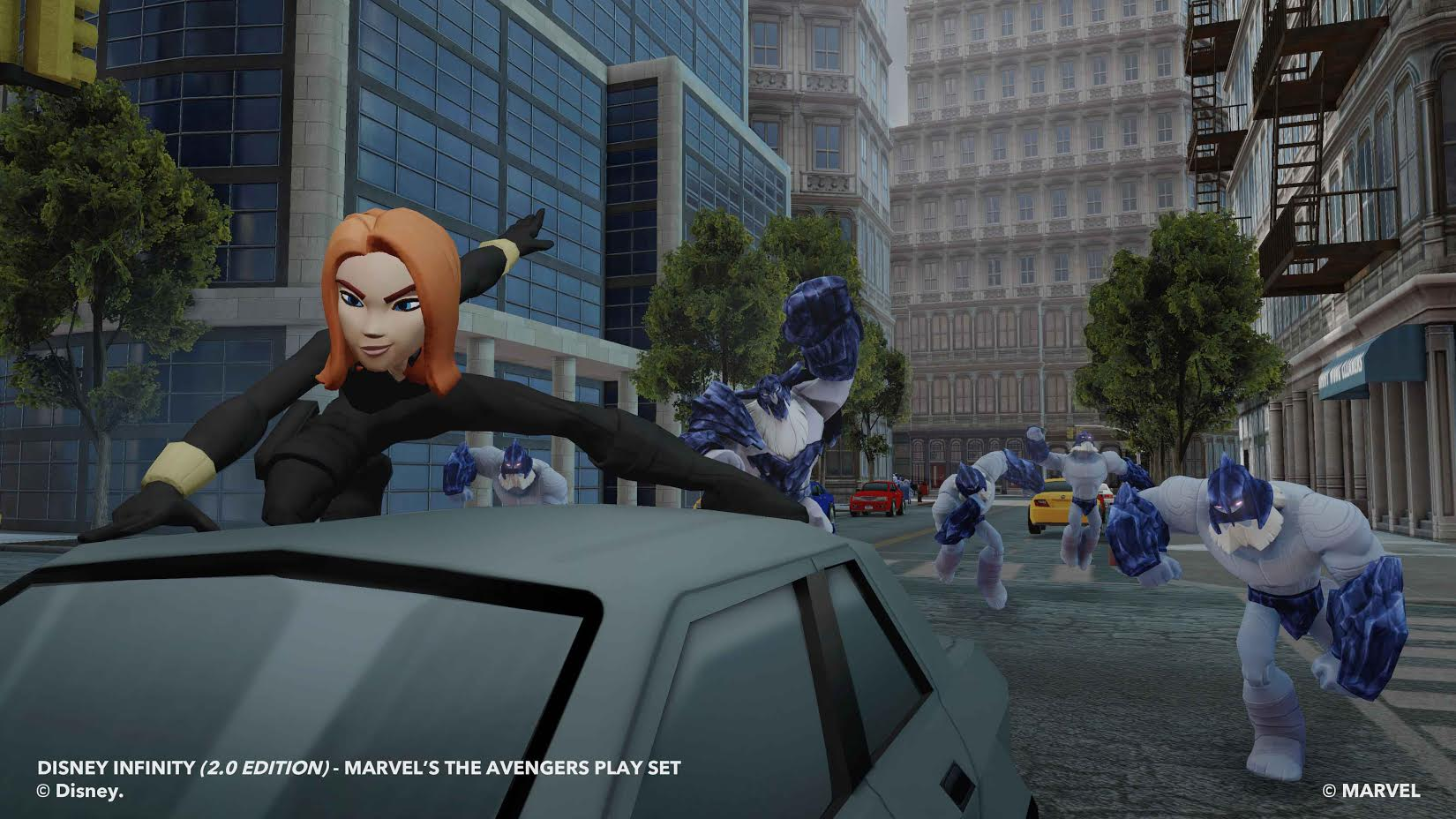 Black Widow is on a mission in Disney Infinity 2.0