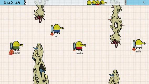 Doodle Jump Race 01