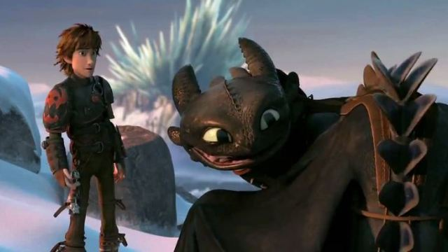 Watch the first 5 minutes of How to Train Your Dragon 2!