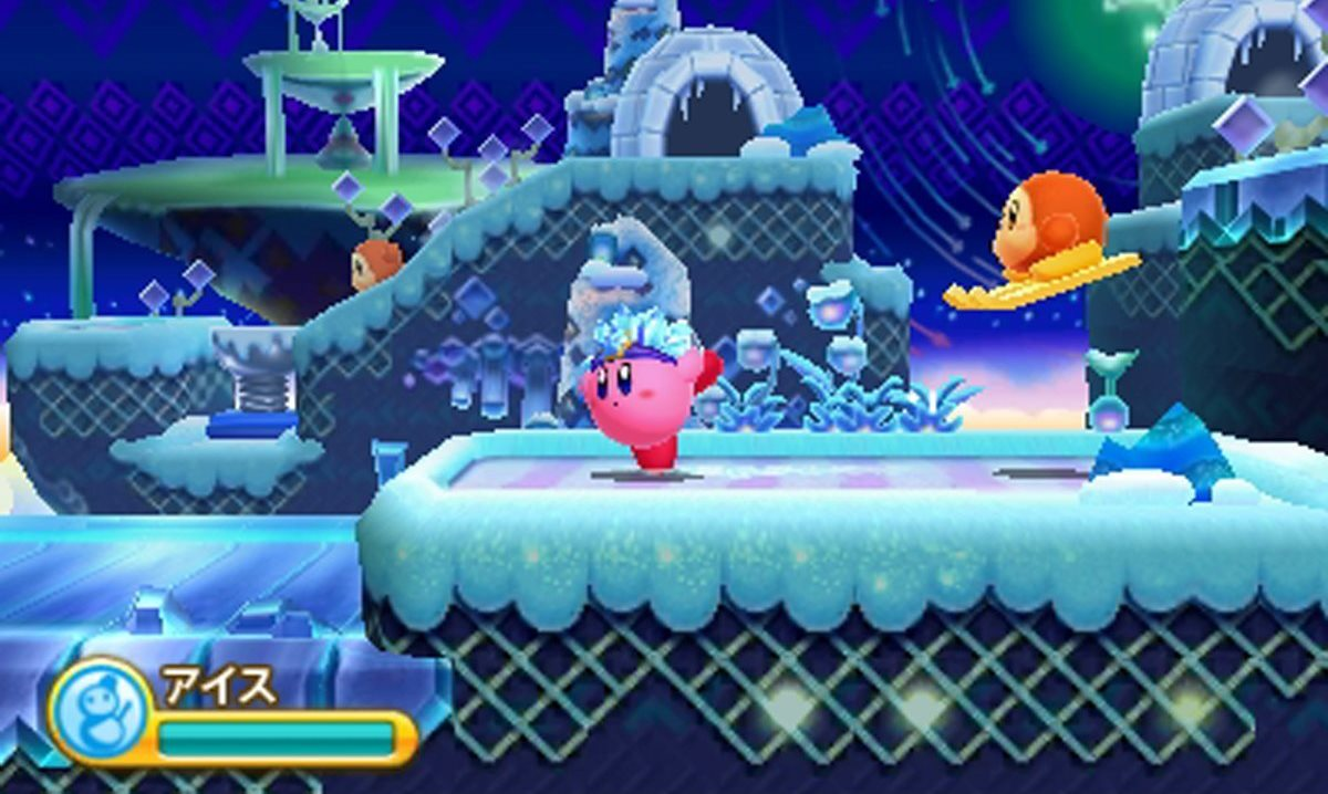 Kirby Triple Deluxe shows off its powers
