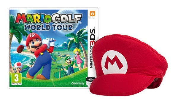 Pre-order Bonus for Mario Golf: World Tour is a cool Mario cap