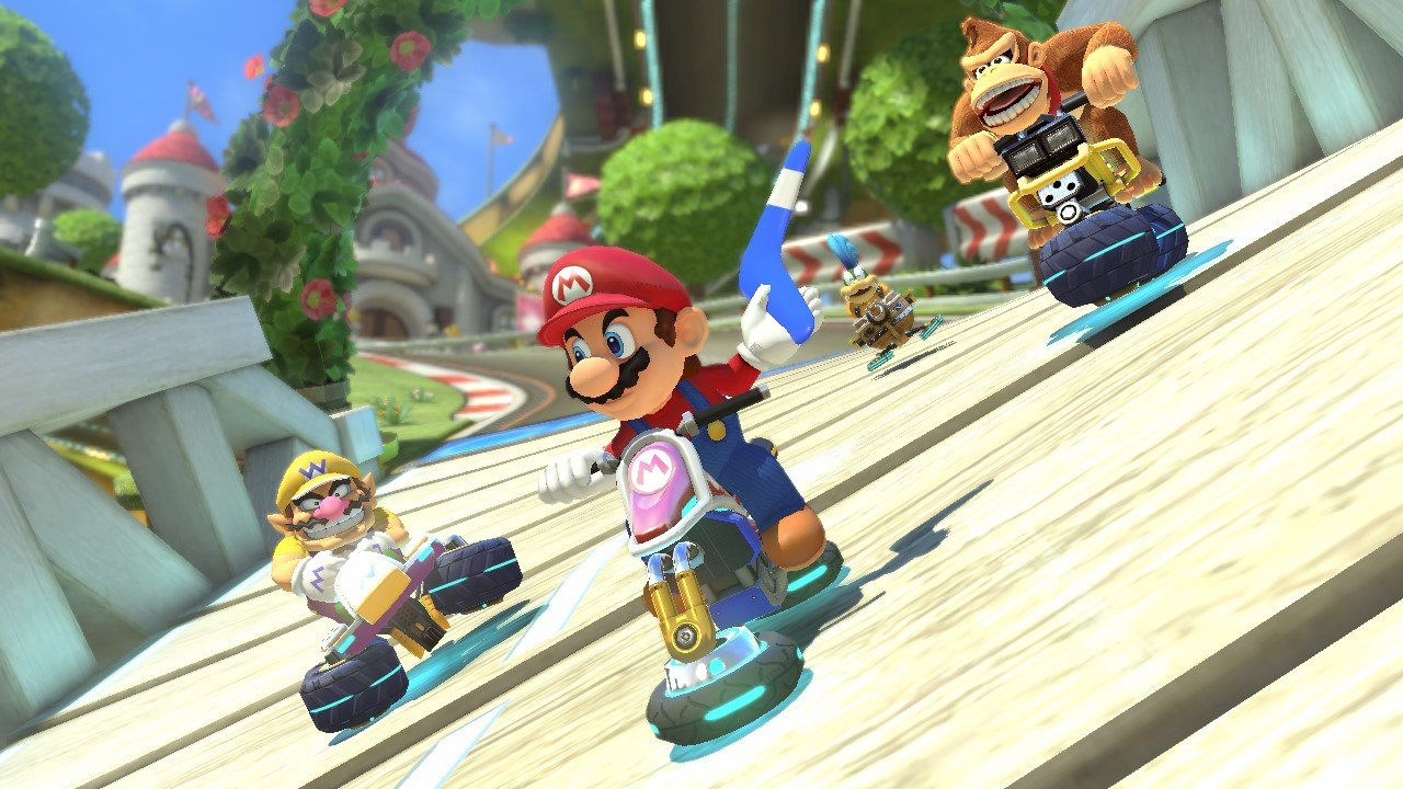 Mario Kart 8 trailer shows off new stages, release date announced