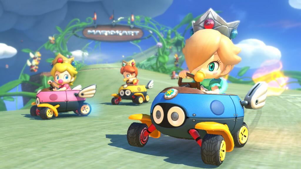 New Mario Kart 8 Trailer