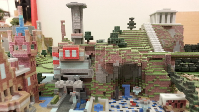 Check out these incredible Minecraft 3D prints