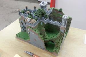 Minecraft 3D printed 02