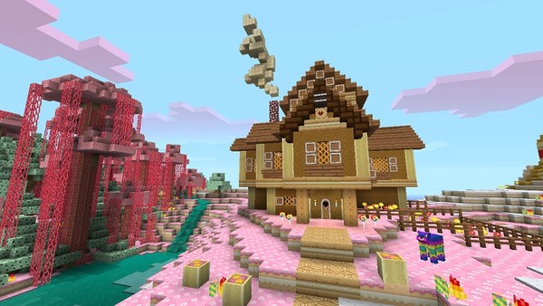 Minecraft gets sweet with Candy Texture pack