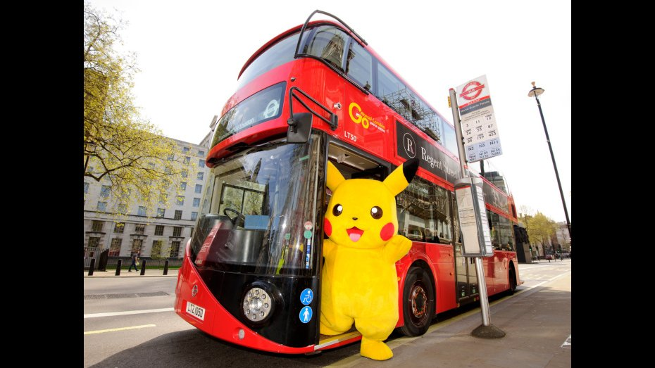 Pikachu and the Year of the Bus