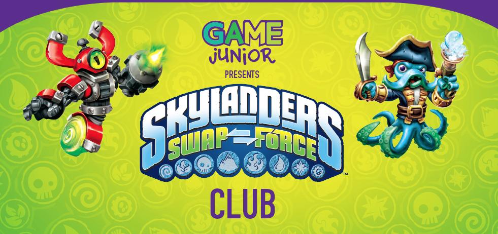 GAME launches Skylanders Swap Force Club!