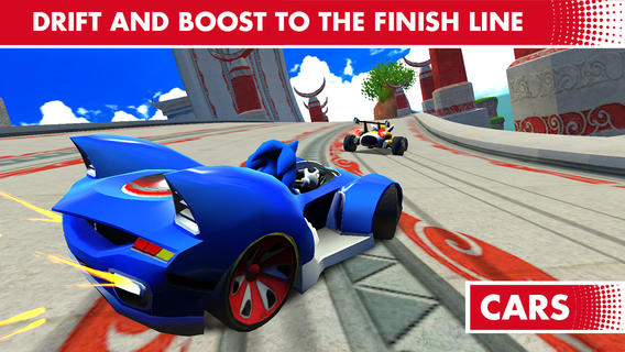 iOS App of the Day: Sonic All-Stars Racing Transformed