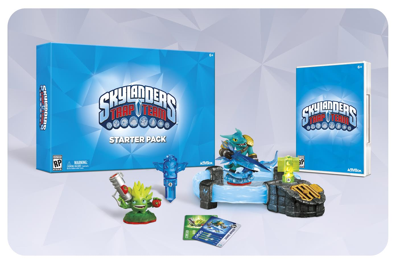 The new Skylanders Trap Team Starter Pack