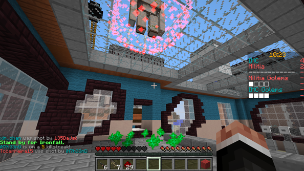 Standby for Ironfall in Minecraft