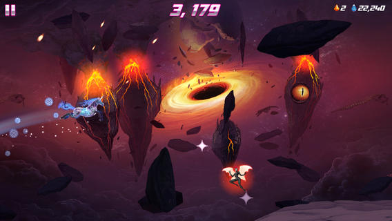 iOS App of the Day: Robot Unicorn Attack 2
