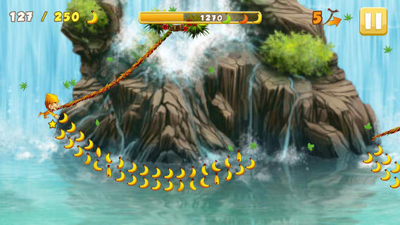 iOS App of the Day: Benji Bananas Adventures