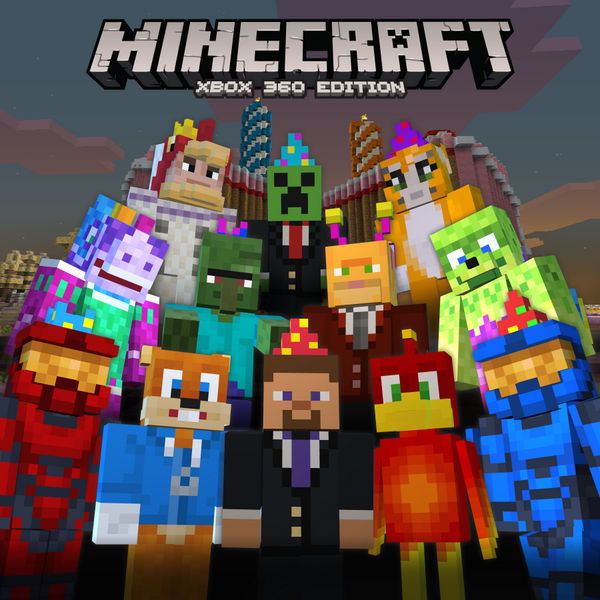 Minecraft Xbox 360 celebrates 2nd Birthday with free skins