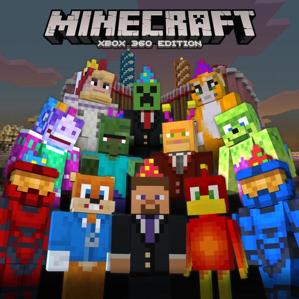 Minecraft Xbox 360 celebrates 2nd Birthday with free skins ...