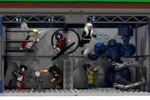 LEGO X-Mansion Danger Room