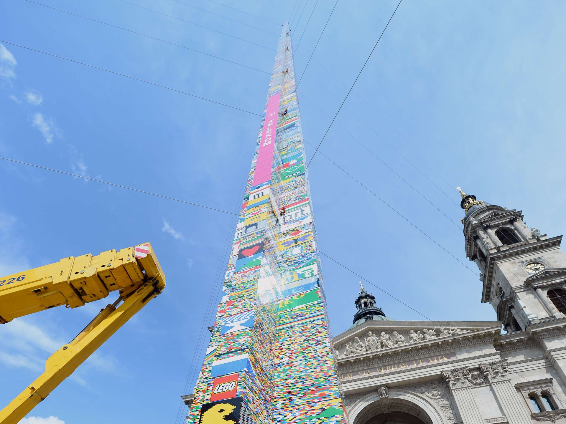 LEGO tower in Hungary is tallest in the world!