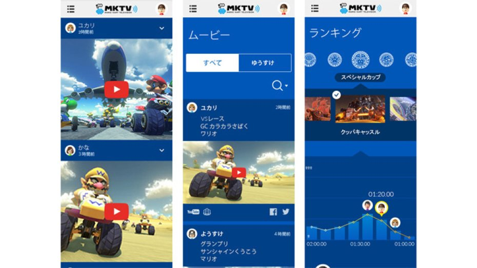 The Mario Kart TV app will let you watch replays and read rankings