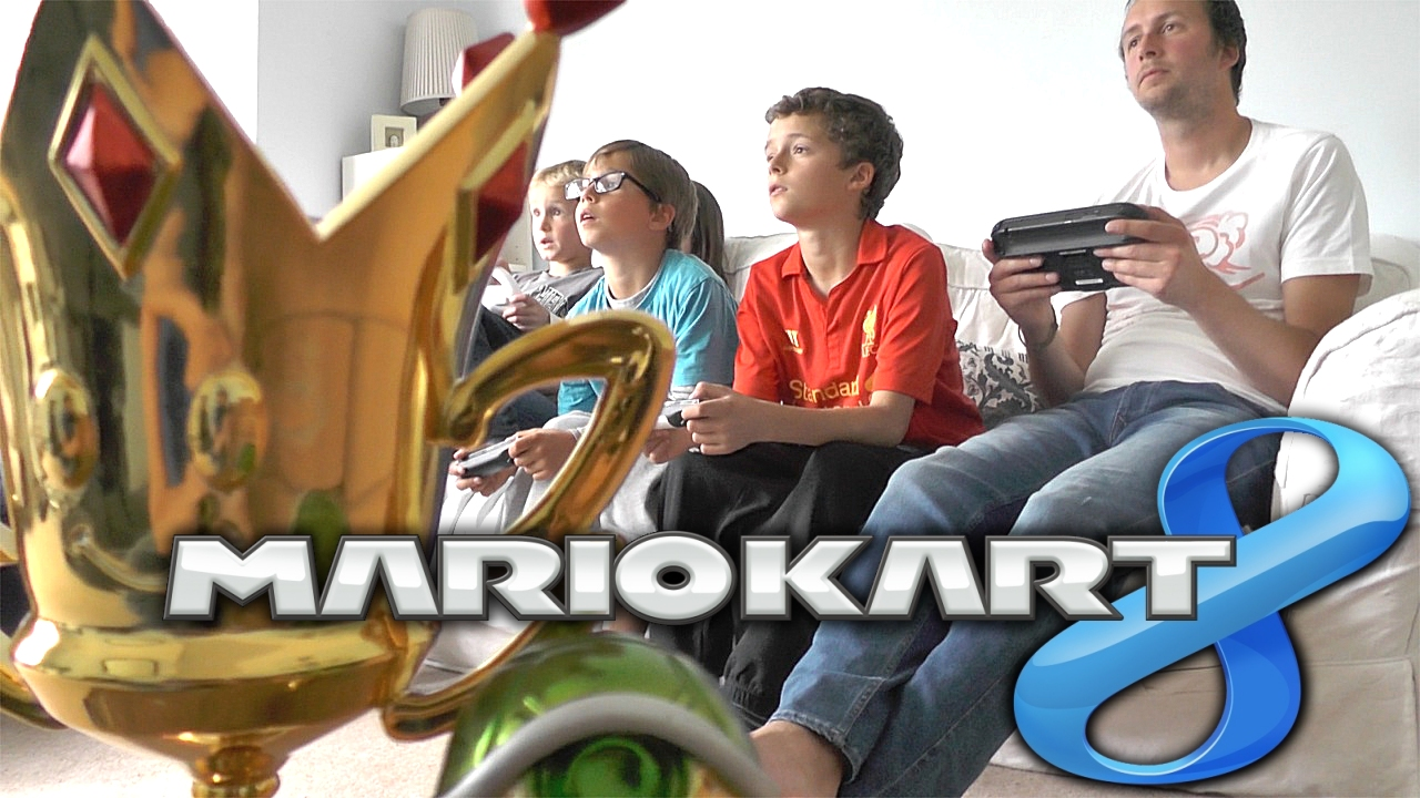 Mario Kart 8 Family Battle Round 1