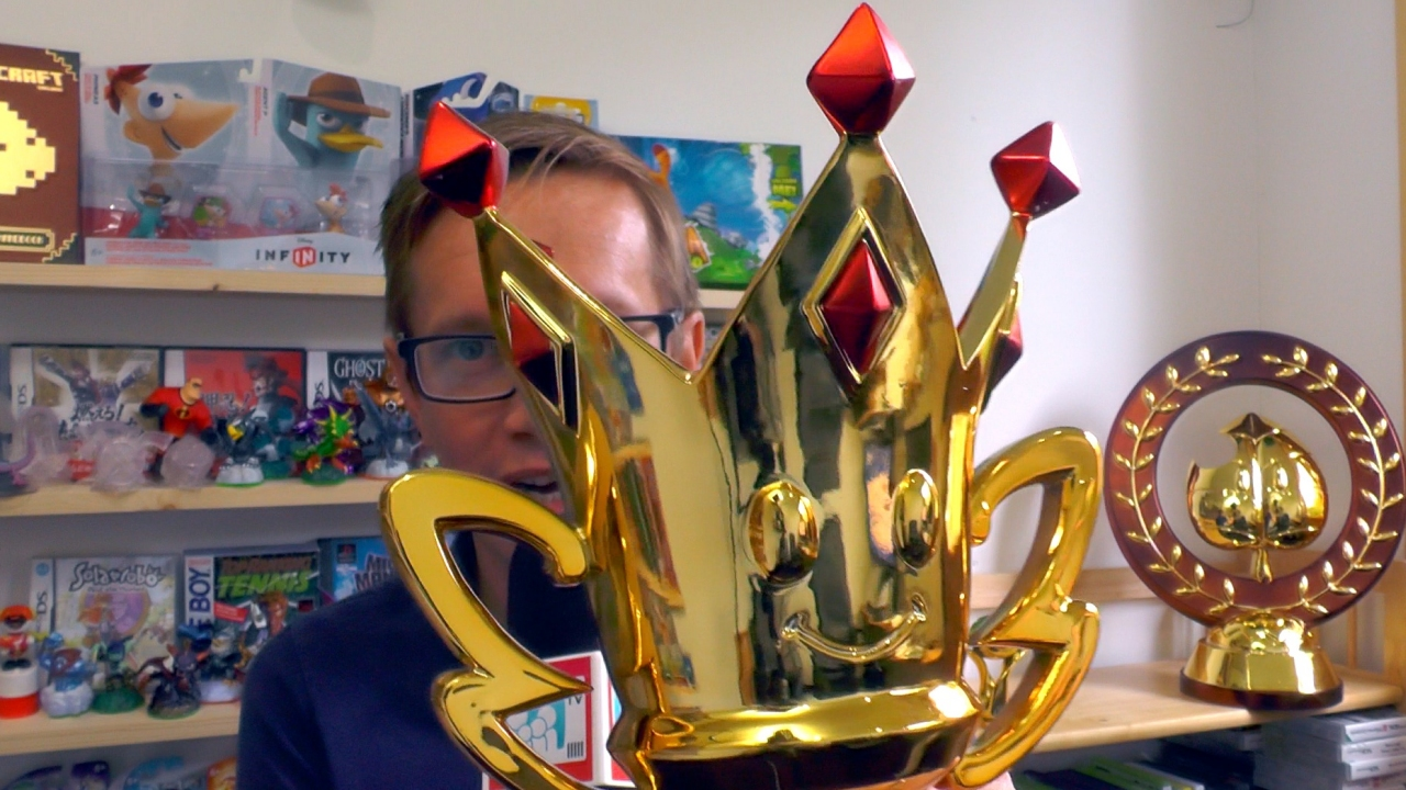 Win real-life Mario Kart trophies!