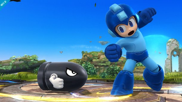 Mega Man Bullet Bill Super Smash