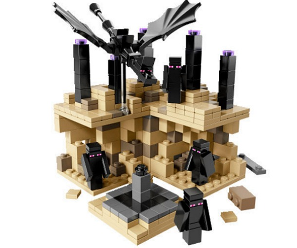 New LEGO Minecraft unleashes the Enderdragon