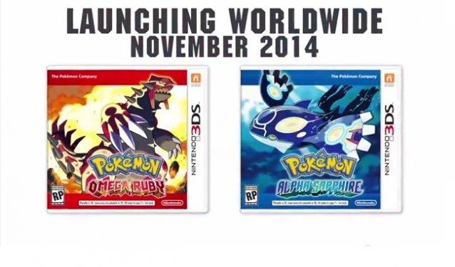 Pokémon Omega Ruby & Pokémon Alpha Sapphire announced
