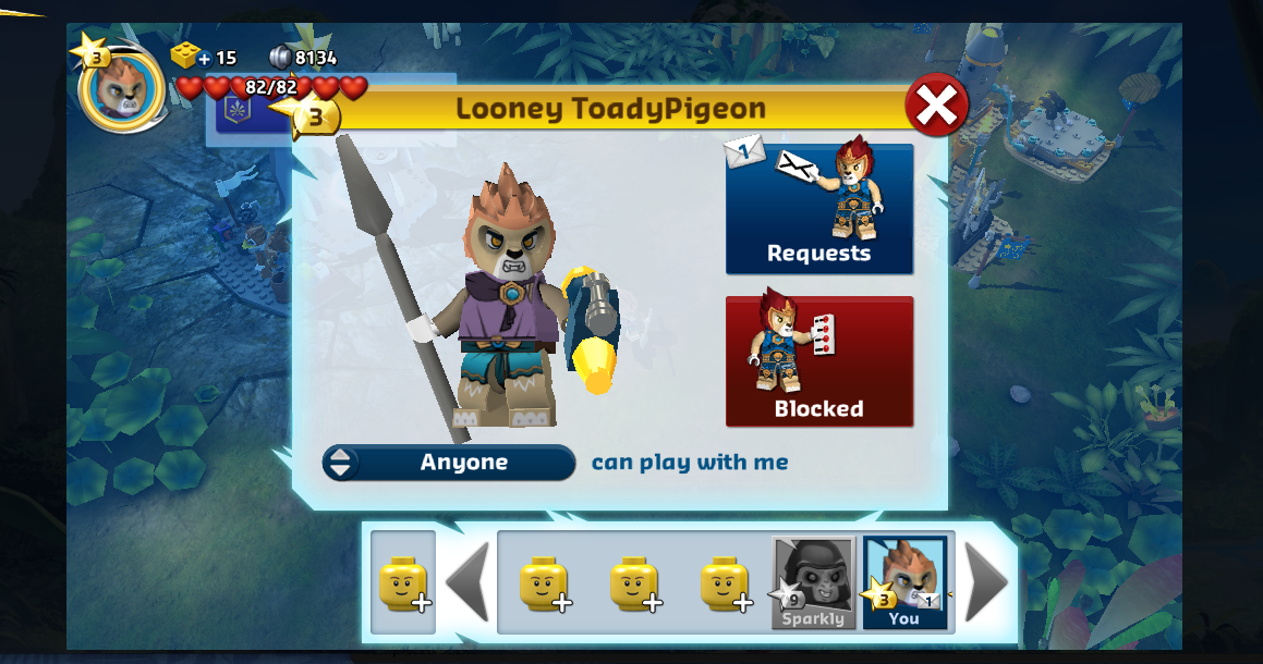 LEGO Legends of Chima Online: Diary Week 2