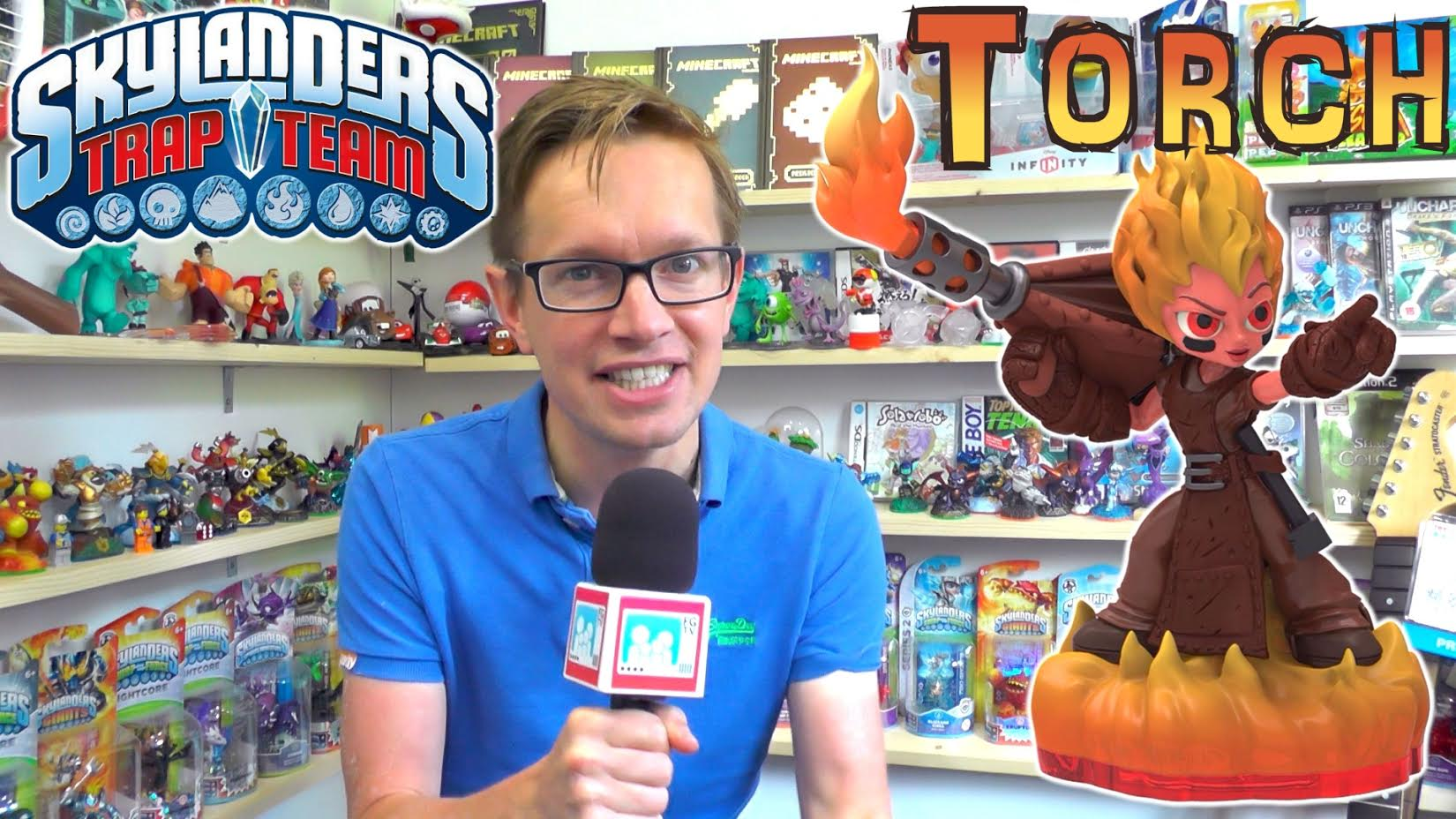 New Skylanders Trap Team character revealed: Torch!