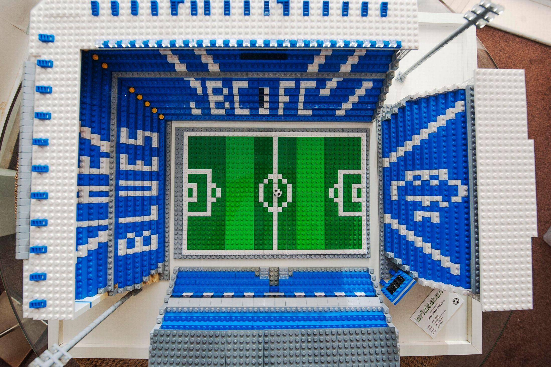 Birmingham City Stadium gets LEGO'd