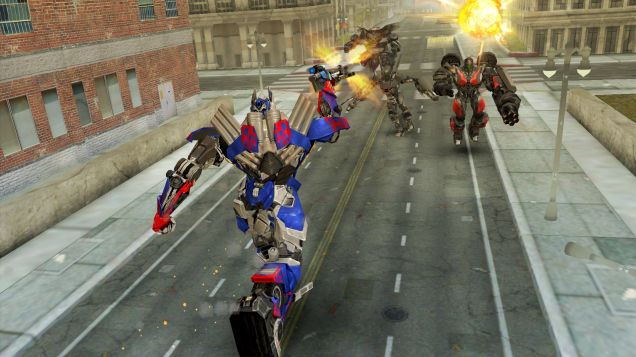 Transformers: Age of Extinction is rolling out on mobile