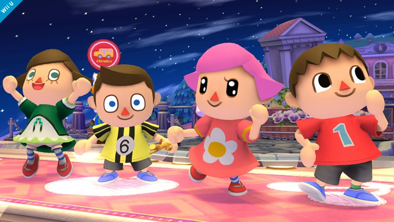 Super Smash Bros. will feature boy and girl Animal Crossing villagers