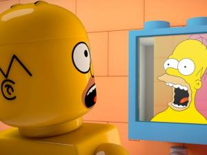 Blocky new trailer for The Simpsons LEGO episode
