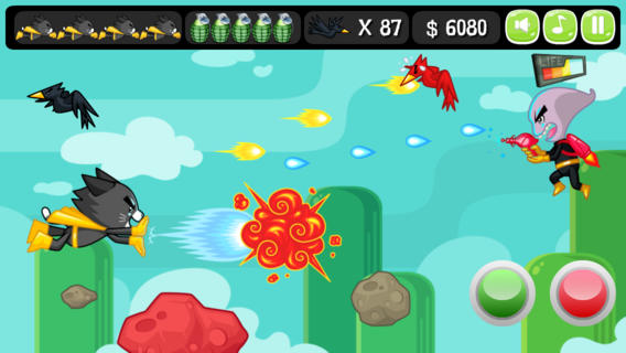 iOS App of the Day: Aliens VS Super Cat