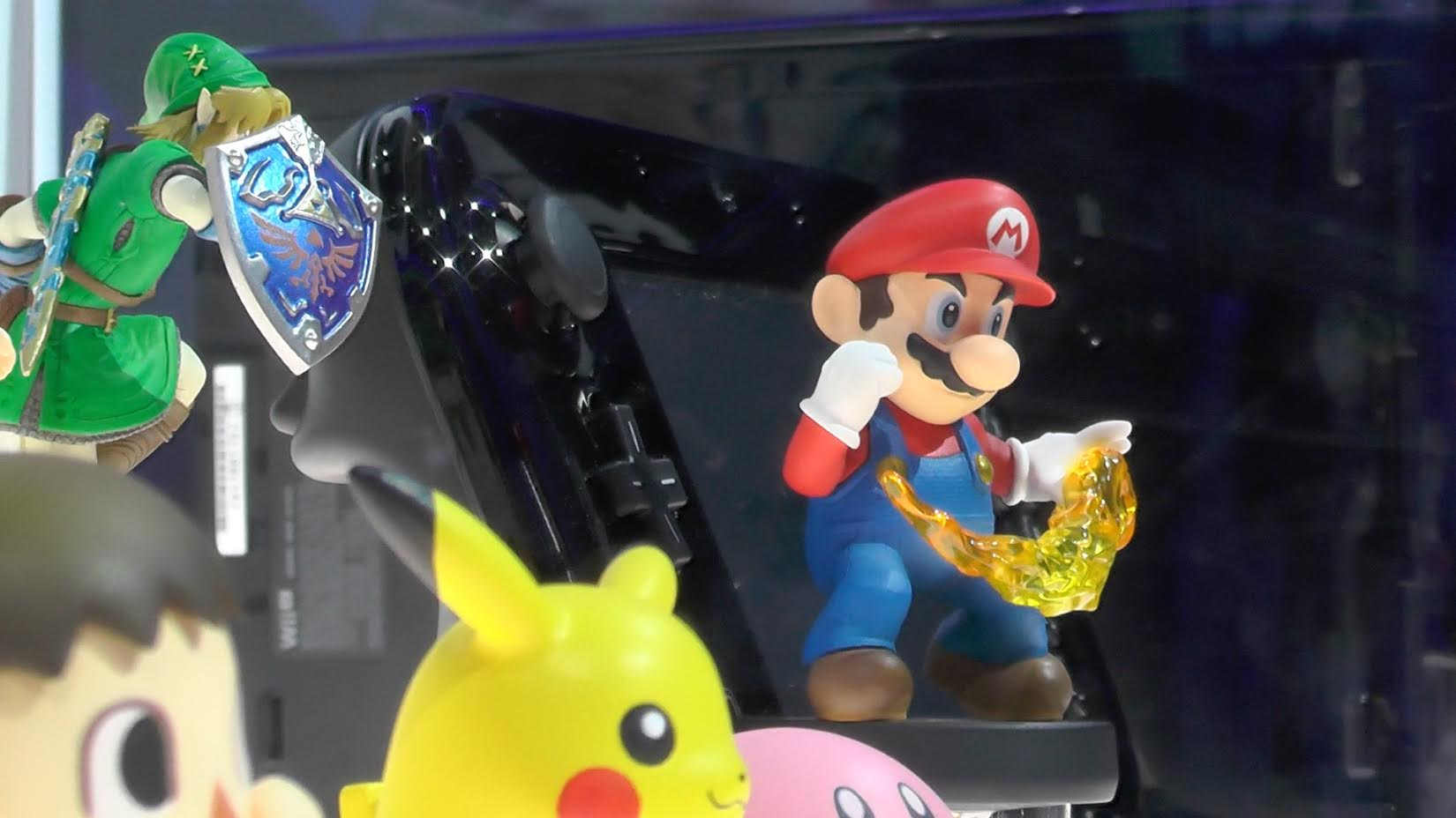 Take a look at Nintendo's Amiibo figures