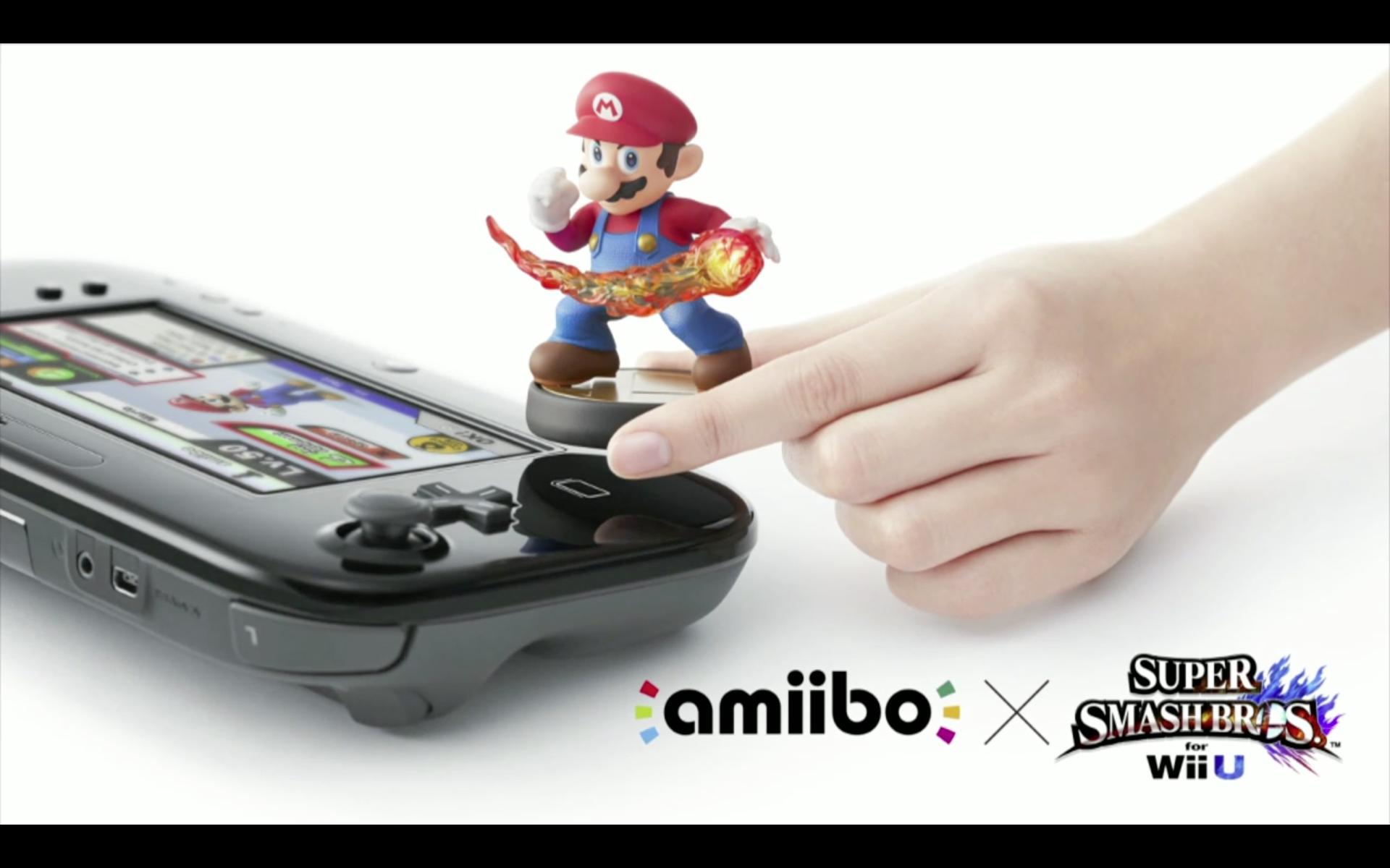 Nintendo Amiibo figures put toys into your game