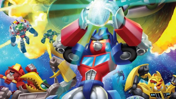 More than meets the eye with Angry Birds Transformers