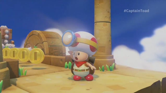 Captain Toad gets his very own adventure on Wii U