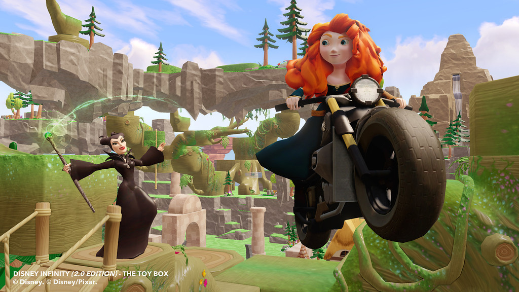 See Maleficent and Merida in action in Disney Infinity 2.0