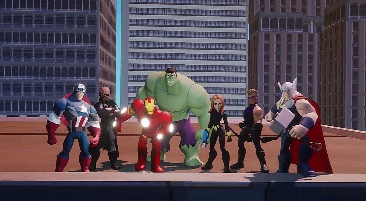 Meet the Disney Infinity 2.0 Avengers