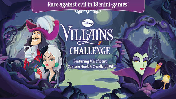 iOS App of the Day: Disney Villains Challenge