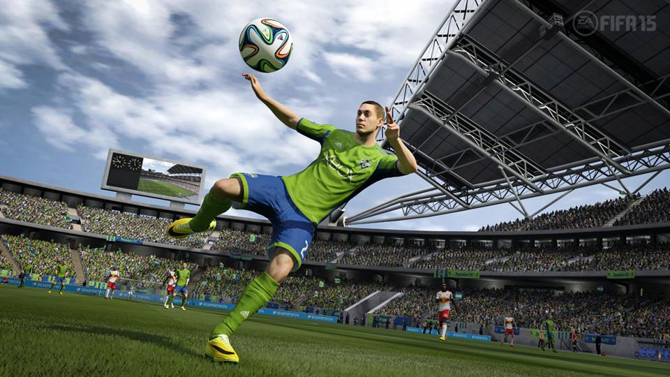 FIFA 15's players look incredible