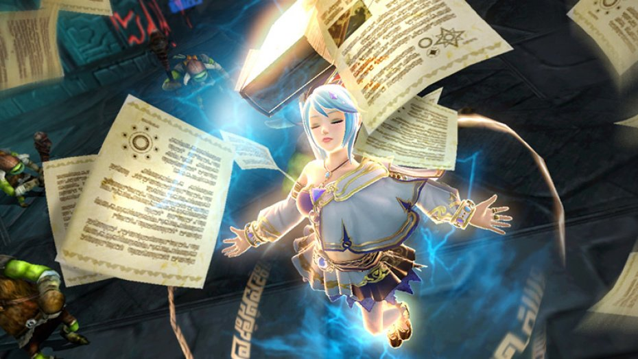 Awesome Hyrule Warriors screens show of Agitha, Lana, and Midna