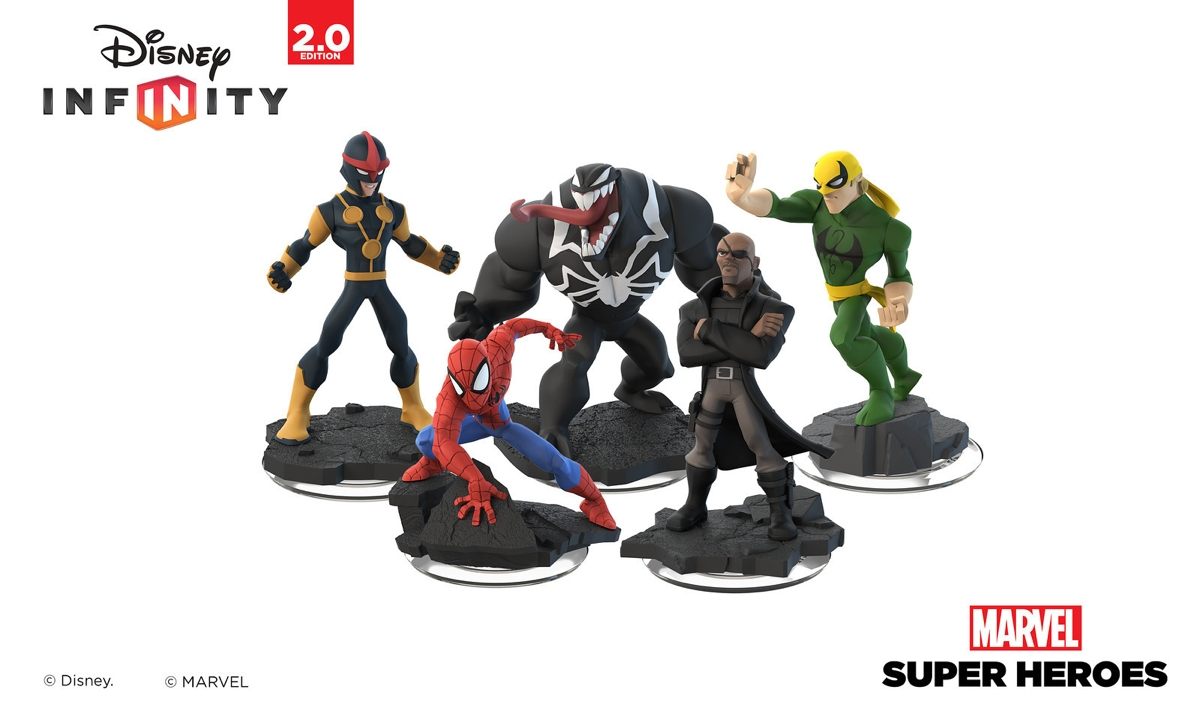 Disney Infinity 2.0 swings in with Ultimate Spider-Man