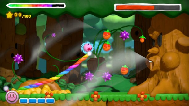 Kirby lands on Wii U in Kirby and the Rainbow Curse